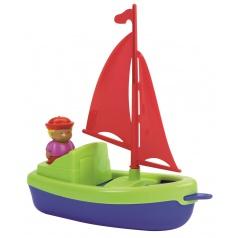 Ecoiffier Plachetnice 22,5 cm s námořníkem