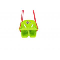 Teddies Houpačka Baby plast zelená nosnost 20kg 36x30x29cm 24m+