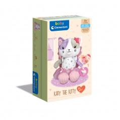 Clementoni Můj první plyšák - kočička v dárk.kazetě