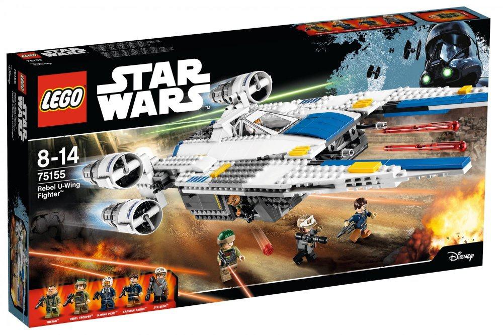 Lego 75155 Star Wars Rebel U-Wing Fighter (Stíhačka Rebel)