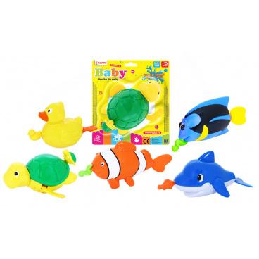 rappa hračky zvířata do vody natahovací