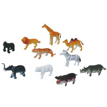 rappa hračky Zvířata divoká v sáčku 6.5cm