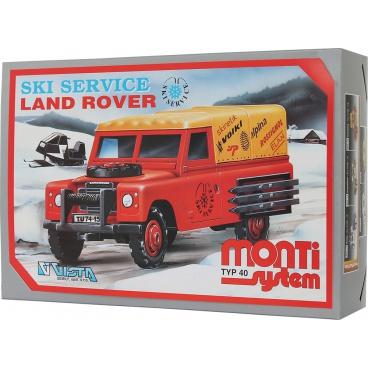 Stavebnice Monti 40 Ski Service - Land Rover