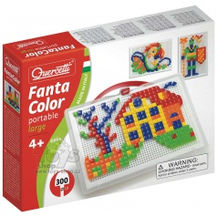 QUERCETTI dětská mozaika Quercetti Fantacolor Portable 300čt