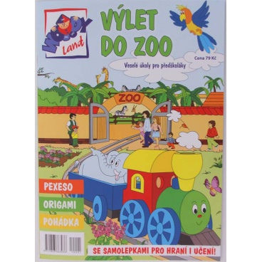 "Časopis ""WOODYLAND"" SPECIÁL, Výlet do ZOO"