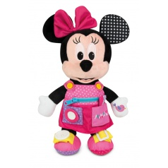 Clementoni Plyšová Minnie s kapsami