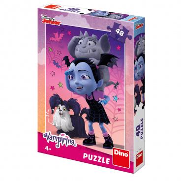 Dino dětské puzzle Vampirina ballerina 48D