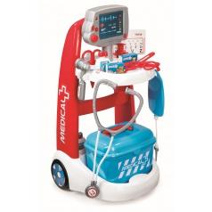 Smoby Role play Smoby Lékařský elektronický vozík s příslušenstvím