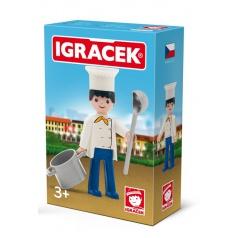 IGRÁČEK - Kuchař s doplňky