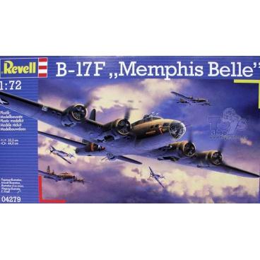 """Revell Plastic ModelKit letadlo 04279 - B-17F """"Memphis Belle"""" (1:72)"""