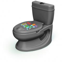 Dolu Detská toaleta Fisher Price, šedá