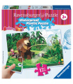 Ravensburger dětské puzzle Máša a Medvěd 12 plastových dílků II