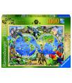 Ravensburger puzzle Svět divočiny 1000 dílků