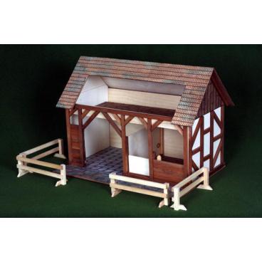 Walachia dřevěná stavebnice - Stáj