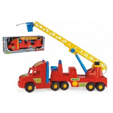 WADER Auto Super Truck hasiči plast 77cm v krabici Wader