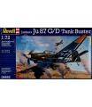 Revell Plastic ModelKit letadlo 04692 - Junkers Ju87 G/D Tank Buster (1:72)