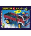 MERKUR - Stavebnice Merkur 4 stavebnice, 602 dílů, 40 modelů