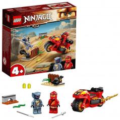 LEGO Ninjago 71734 Kaiova motorka sčepelemi
