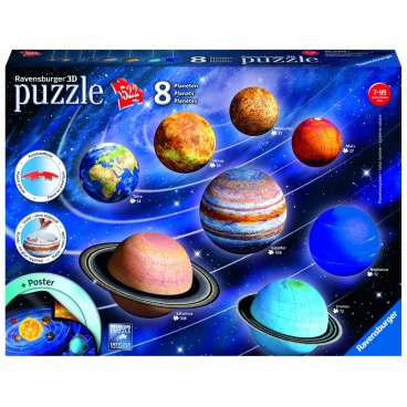 Ravensburger Planetární soustava 960 dílků 3D puzzle