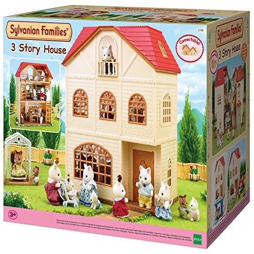 Sylvanian Families 2745 Třípatrový dům / 3 Story House (Cedar Terrace)