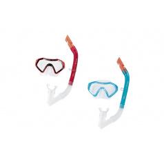 Bestway Šnorchlovací set SPARKLING SEA - brýle a šnorchl - mix 2 barvy (modrá, růžová)