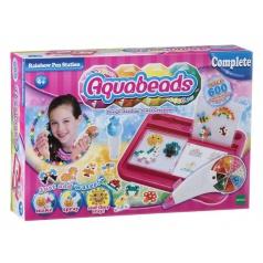 Aquabeads Souprava obsahující pero s duhovým zásobníkem