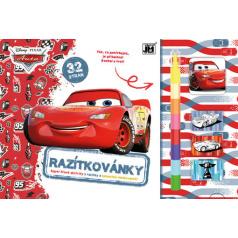 Jiri Models Omalovánka - Razítkovánky CARS - Auta