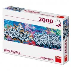 Dino puzle Grafitti 2000D panoramic