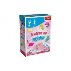 Továrna na mýdlo mini sada 2 pokusy Science 4 you v krabičce 11x16cm