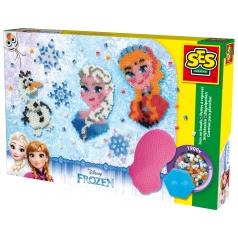 SES Frozen - zažehlovací korálky, velká sada