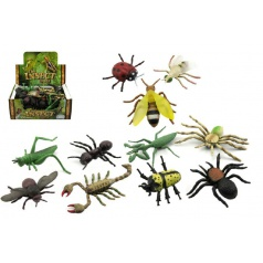 Teddies Hmyz plast 13cm asst mix druhov 48 v boxe
