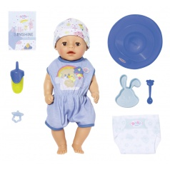 Zapf Creation BABY born Soft Touch Little chlapček, 36 cm