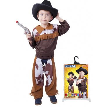 Dětský karnevalový kostým  Kovboj  velikost M