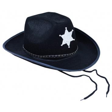 klobouk kovbojský šerif pro dospělé