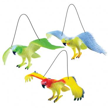 rappa hračky Papoušci