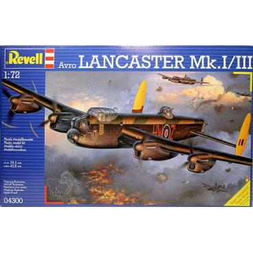 Revell Plastic ModelKit letadlo 04300 - Avro Lancaster Mk.I/III (1:72)