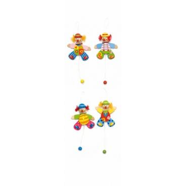 Roztahovací klaun, 4 druhy