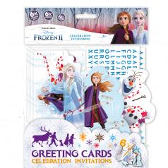 Jiri Models Pozvánky na oslavu Frozen 2 - Ledové království