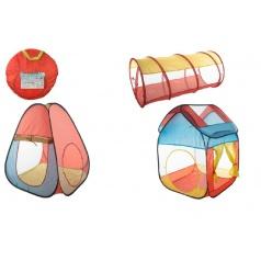 Teddies Set stany 2ks + tunel samorozkládací v tašce 50x50x3cm