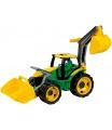 Lena Traktor se lžící a bagrem zeleno žlutý