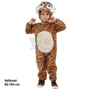 Dětský kostým na karneval - Tygřík 92-104cm