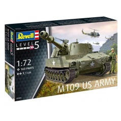 Revell Plastic ModelKit military 03265 - M109 US Army (1:72)