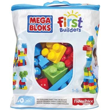 Mega Bloks Big Building Bag Boys kostky na stavění