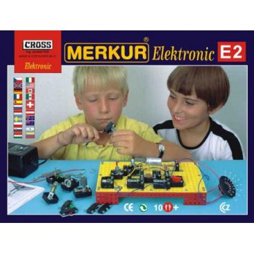 Merkur E2 stavebnice Elektronic