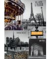 Dino puzzle Paříž - koláž 1000 dílků