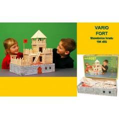 Walachia dřevěná stavebnice - Vario Fort