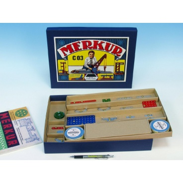 Merkur Toys MERKUR Classic C03 Stavebnice  141 modelů v krabici 35,5x27,5x5cm