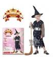 dětský karnevalový kostým - čarodějka vel. 110-120 cm