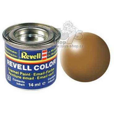 Revell emailová barva 32382 hedvábná okrově hnědá
