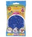 HAMA Neonové modré korálky - 1000 ks MIDI